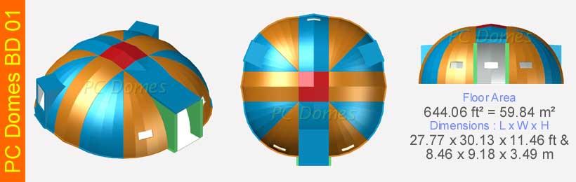 Prince-Composites-PC-Domes-BD-01
