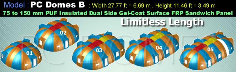 Prince-Composites-PC-Domes-Model-B