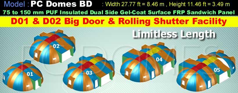 Prince-Composites-PC-Domes-Model-BD