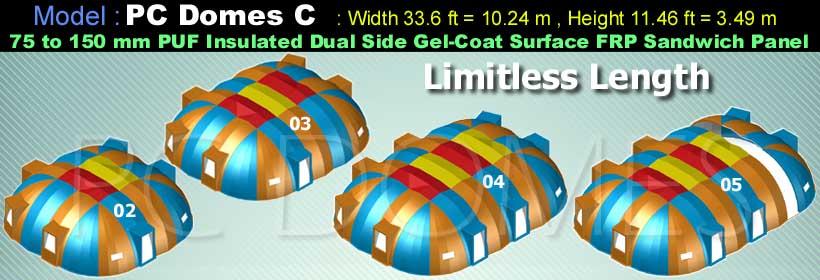 Prince-Composites-PC-Domes-Model-C